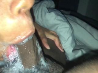Sloppy toppy deepthroat