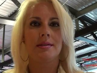 Leather mistress POV humiliation in public