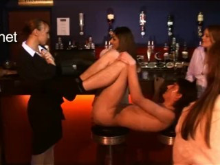 Bachelorette Party Fiance gets Strapon Fucked and humiliated (Femdom)