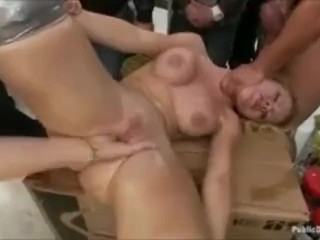 Jessie Rogers Public Humiliation Gangbang