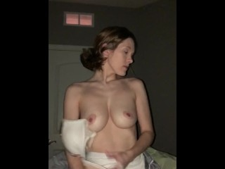 Humiliated wife gets turned down by next door neighbor