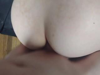 Step-Wife shocking Anal Sex Challenge. 90% of people cum in under 5 min!
