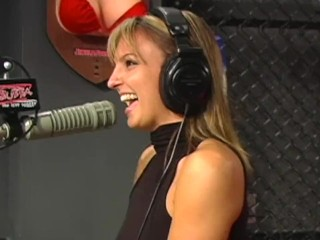 Lexi Love Gets naked on Shock Jock Bubba Radio