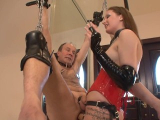 Pegged and shocked