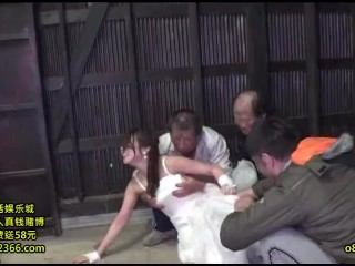 RCT-869 teenie Brides Getting Gang drilled By Homeless men In The Back Of Van