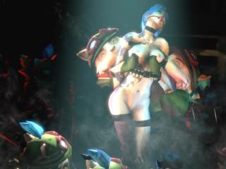 Hentai 3D Jinx Ecstasy Sex Slave