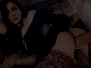 The Witcher 3: Yennefer Getting fucked Compilation (W/ Audio)