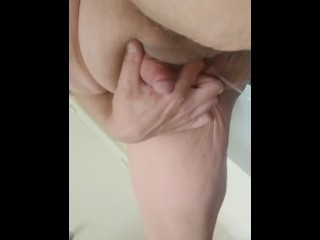 Squirting and Giant Clit Orgasm