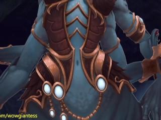 Queen Azshara   Animation (Giantes Vore)