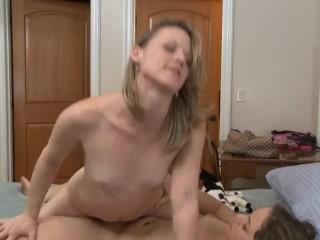Lesbian roomate abused