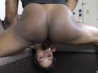 Lil WHITE GIRLS LOVE BIG BLACK COCK