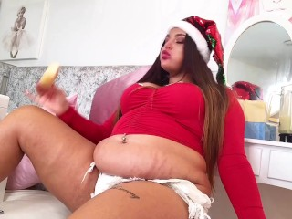 Goddes Shar christmas belly stuffing