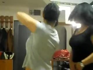 Funny Arab girls hot dance