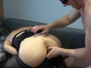 pretty Slave Has Two Squirting jizz During Brutal Hard Fuck