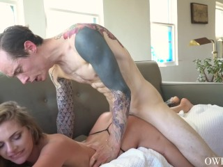Rough Creampie Sex with Sydney Cole