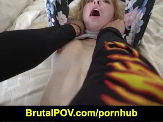 Brutal POV - Kenzie Reeves - young Runaway Gets Disciplined