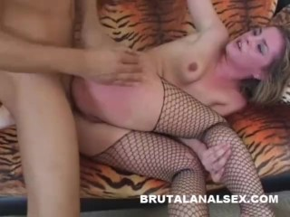 Isabelice gets totally ruined by a fat meat in every hole