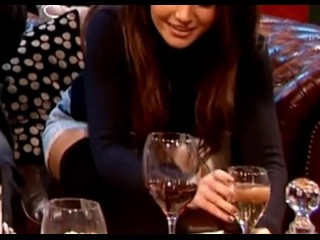 Michelle Keegan White Panty Upskirt Zoomed