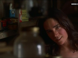 Jennifer Connelly - Topless, Upskirt + sexy Scenes - Inventing the Abbotts