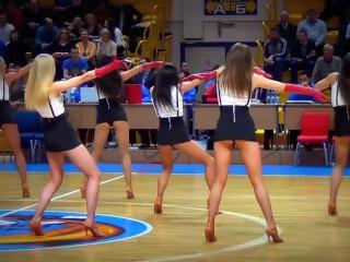 Russian Dancers Upskirt legs and behind