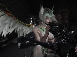 skyrim Chaurus Hunter and angel porn