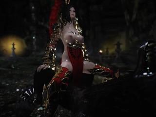 skyrim werewolf and armor heroine porn