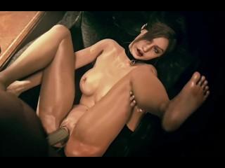 """Porn STARS"". Resident Evil Jill Valentine Ada Wong Claire Redfield PMV"