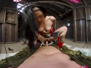 VRBangerscom-Amazing. Wonder woman cosplay fuck VR Porn film