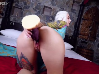 Game of Porn Episode 1 - My pussy in on fire