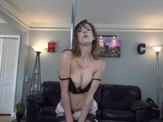 Atlanta Female Stripper, Burlesque Dancer & Porn Star Alora Jaymes with MCE