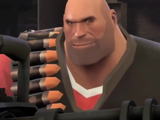 Meet the Heavy (cock and ball torture)