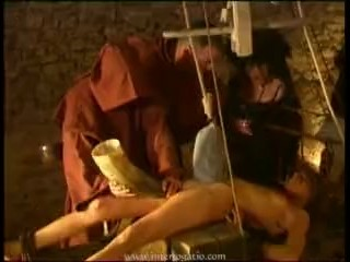Medieval hot wax and water torture