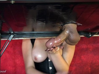 I Tease All Of His sperm Into My Hand (Cock Edging Torture)