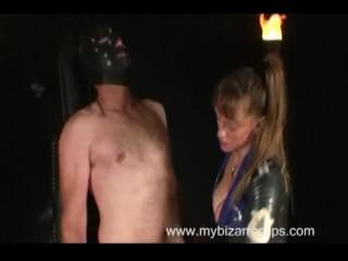 Femdom Tease Torture Handjob