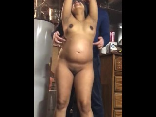Pregnant girl Tickle Tortured to Tears