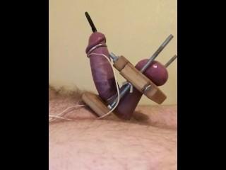 Mmmm. rod and Ball Torture