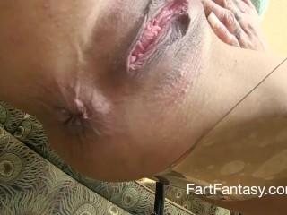 katrina kox prolapsed butt fart chair