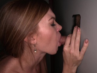 Tall Redhead at Gloryhole