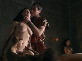 Jessica Grace Smith banged hard in Spartacus