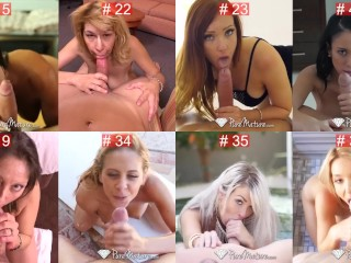 blowjob is pretty! Many skanks blowing contest, cast your vote!