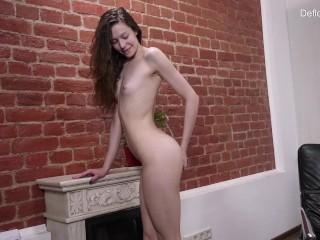 Curly hair Sofia Dolgovyaz confirms virginity and masturbates