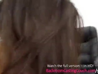18 years mature young Insemination on Casting Couch