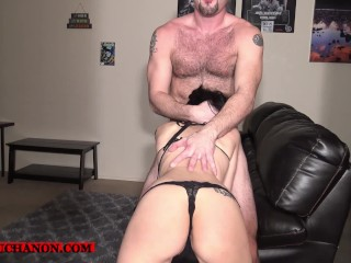 Throat Fuck Slave Lua ROUGHLY Face boned & Abused by Daddy