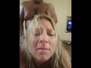 HOT blondy MILF hammered BY BBC DURING CASTING SEE MORE AT onlyfans.