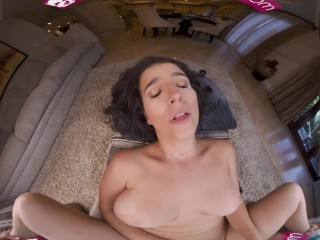 VR BANGERS Spanish Lesson Full Of Practice With sweet Latin broad VR Porn