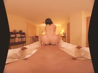 Special Exercise Before Sleep Japanese young VR Porn