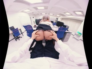 Japanese VR Porn! The new method of releasing work pressure for Office lady