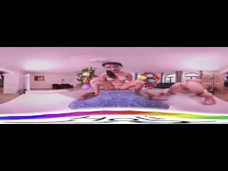 [HoliVR 360 VR Porn] 誕生日の特別なプレゼント