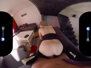 BaDoink VR Angel Piaff Will Do Whatever It Takes VR Porn