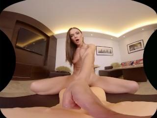 SexBabesVR - 180 VR Porn - Alyssa Reece in Living-Room